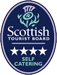 Mingarry Lodges are rated 4 stars by Visit Scotland