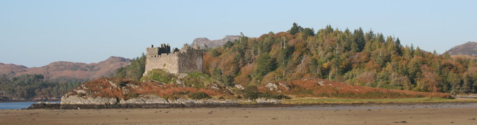 Castle Tioram in Autumn