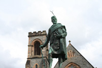 statue of Donald Cameron in Fort William