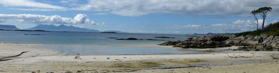 One of the beaches at Camusdarach near Arisaig