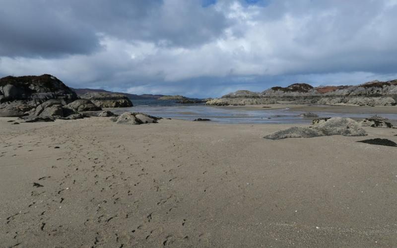 Spring in Ardnamurchan at Mingarry Lodges