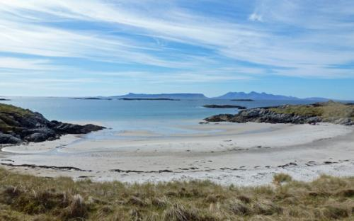 One of the bays at Camusdarach