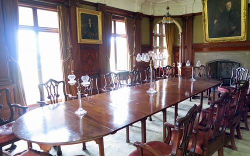 Kinloch Castle - Dining room
