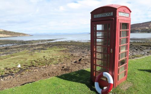 Can you resist taking a photo of a red phone box?