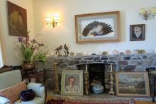 The Long Room on Eilean Bàn