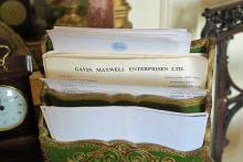 Gavin Maxwell Enterprises headed paper