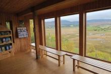 The RSPB Visitor Centre at Insh Marshes