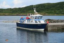 The MV Shearwater at Arisaig