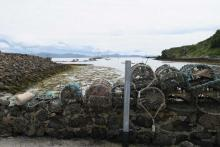 Looking back towards the harbour on The Isle of Muck