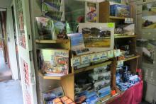 The Jacobite steam train gift shop