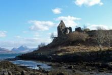 Caistelan nan Con on The Morvern Peninsula