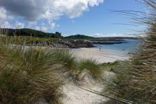 Through the dunes to Camusdarach beach