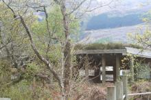The Grabh Eilen Wildlife hide is a good place to watch for otters on Loch Sunart