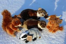 Living Nature Soft Toys - Mingarry Lodges Gift Shop