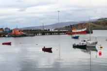 The historic fishing port of Mallaig