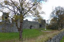 Old Inverlochy Castle near Fort William