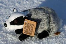 Living Nature Badger Soft Toy - Medium
